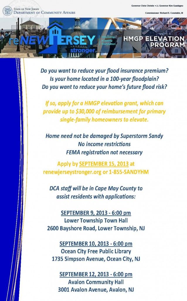 HMGP - Cape May flyer